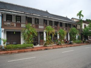 maison coloniales Luang Prabang