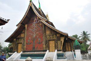 temple Vat Xieng Thong Luang Prabang