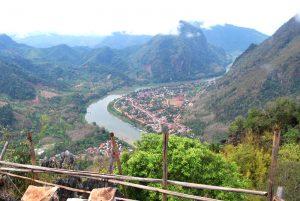 Nong Kiaw - vue de haut