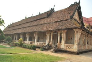 temple Wat Luang -Pakse- Laos