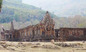 temple Wat Phou-Champassak-Laos-