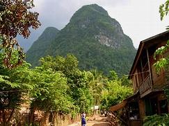 trekking laos habitant Khmu
